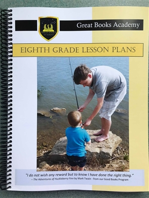 Great Books Academy Grade 8th Grade Lesson Plans binder