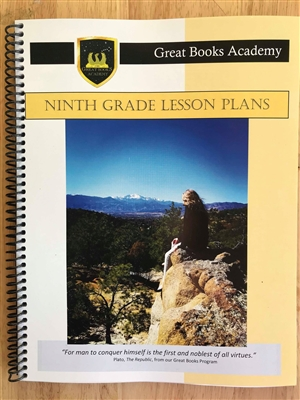 Great Books Academy Grade 9th Grade Lesson Plans binder