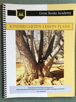 Great Books Academy Kindergarten Lesson Plans binder