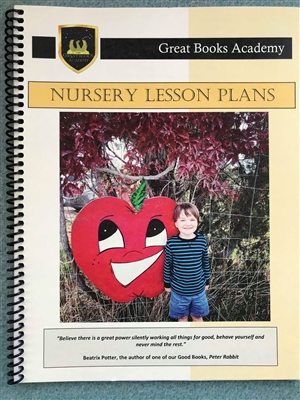 Great Books Academy Nursery Lesson Plans binder
