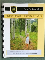 Great Books Academy Preschool Lesson Plans binder