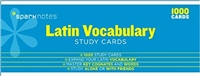 Recommended for Latin I Online Class: Latin Vocabulary SparkNotes Study Cards Student, Bilingual Edition