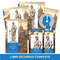 Liber Secundus Britanni et Galli Complete Set (Second Level)