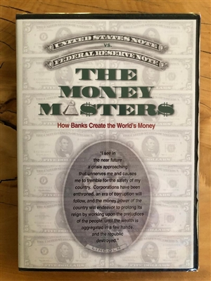 Money Masters DVD - INTERNATIONAL SHIPPING