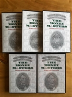 FIVE Money Masters DVDs - FREE SHIPPING INSIDE THE US