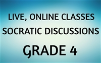 Socratic Discussions Online Class for Grade 4