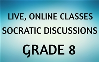 Socratic Discussions Online Class for Grade 8