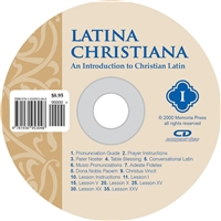 Latina Christiana I, Pronunciation CD (recommended for Grades 3-4)