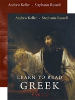 HIGH SCHOOL: Learn to Read Greek: Part 2, Textbook and Workbook Set