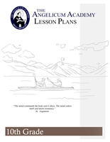 Angelicum Academy 10th Grade Lesson Plans binder