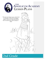Angelicum Academy 2nd Grade Lesson Plans binder