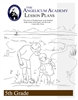 Angelicum Academy 5th Grade Lesson Plans binder