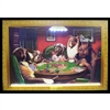 DOGS PLAYING POKER NEON/LED