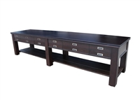 "16 ft ""The Aspen"" 2 in 1 Shuffleboard & Console Table"