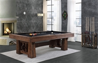 8' Bull Run Pool Table