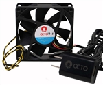 "Octo AF-80 3.15"" Variable Speed Fan"