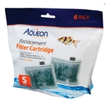 Aqueon Replacement Cartridge (Small) for MiniBow 1, 2.5, and 5 Gal (6 Pack)