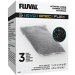 Fluval Evo, Spec, and Flex Replacement Activated Carbon 3-Pack (Fluval A1377)