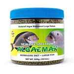 VASCA New Life Spectrum AlgaeMax Pellets 300 grams Large Fish Wholesale Aquarium Supply