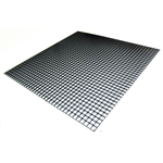 "Egg Crate Black Styrene 23.5"" x 23.5"""