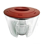 VASCA Red Sea Reefer 600 Protein Skimmer Replacement Cup & Lid (Red Sea Part # 50533) Wholesale Aquarium Supply