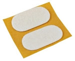 Tunze Felt Pads 19 x 38 mm 2-pack
