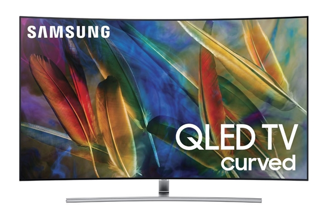 "Samsung Q Series QN55Q7CAMF - 55"" Curved QLED Smart TV - 4K UltraHD"