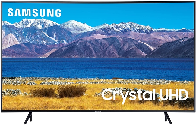 "Samsung 8 Series UN65NU8500F - 65"" Curved LED Smart TV - 4K UltraHD - Slate Black"