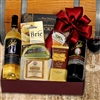 Red, White and Cheese Gift Basket