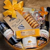 Kosher Red & White Gift Basket