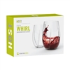 Whirl Aerating Crystal Wine Glasses