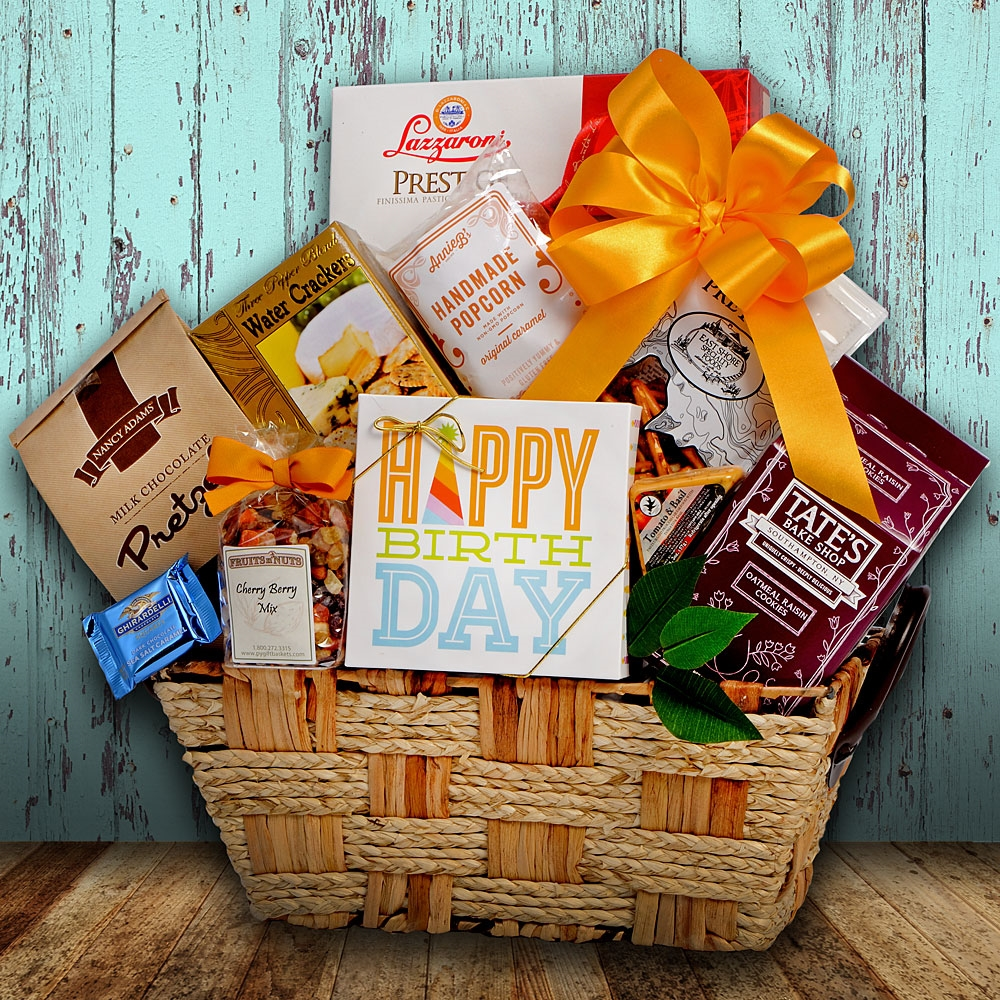 Gourmet Birthday Moments Gift Basket