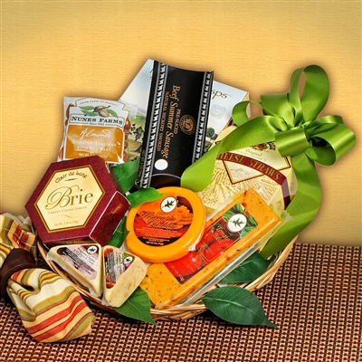 Cheese Please Gift Basket