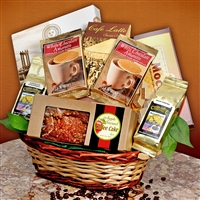Coffee (or Tea!) Time Gift Basket