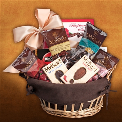My Own Chocolate Gift Basket