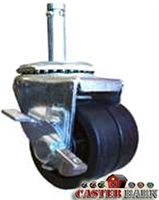 2 Inch Low Profile Swivel Caster with Brake