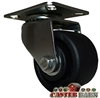 "03 Series 3"" Low Profile Top Plate Casters with Polyolefin Wheel"