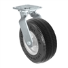 "8"" Flat Free Swivel Caster - 8"" x 3"" Foam Filled Tire - 275 lbs Capacity"