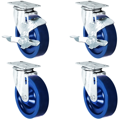 "5"" Solid Polyurethane Wheel 