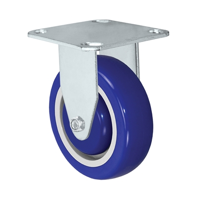 "3"" x 1-1/4"" Blue Caster 