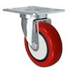 "3-1/2"" x 1-1/4"" Red Caster 