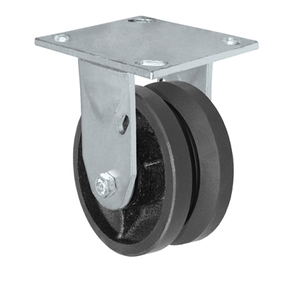 "4"" x 2"" V-Groove Wheel 