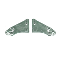 Wheel Bracket Kit - Kit includes left side & right side brackets.