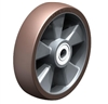 "ALB-200-20K - 8"" x 2"" Blickle Heavy Duty Wheel with Blickle Besthane® Polyurethane Tread on Aluminum Wheel Center"