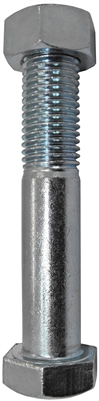 "1/2"" x 4"" Plain  Axle & Nut"