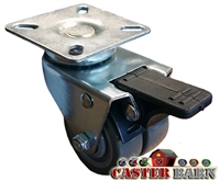A9 Low Profile Total Locking Caster