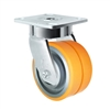 "4"" x 2"" Dual Wheel Caster 