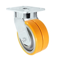 "5"" x 2"" Dual Wheel Caster 