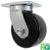 "6"" x 3"" Kingpinless Swivel Caster - Phenolic Wheel - 2,000 Lbs Capacity"