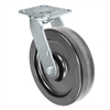 "8"" x 2"" Inch Swivel Caster - Phenolic Wheel - 1,250 Lbs Capacity"
